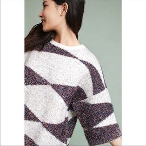 Anthropologie Moth Tinsel Sweater